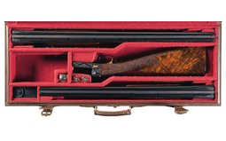 Winchester 21 Gold Inlaid Connecticut Shotgun Engraved