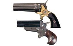 Two Pocket Pepperbox Handguns