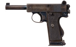 Webley & Scott Mark I No. 2 Royal Horse Artillery Pistol