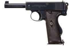 Commercial Webley & Scott Model 1913 Mark I Pistol