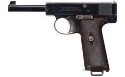 Webley & Scott Model 1910 .38 ACP Semi-Automatic Pistol