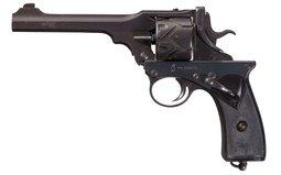 Scarce Webley-Fosbery Automatic Revolver