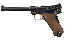 DWM Model 1906 Navy Commercial Luger Semi-Automatic Pistol