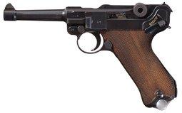 Mauser S/42 1938 Luger, Kriegsmarine Marked, w/Ex.Mag/Holster