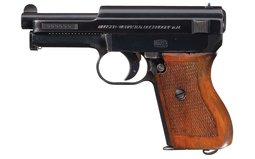 Kriegsmarine Marked Mauser 1934 Pistol w/Papers