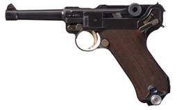 1937 Mauser Banner Commercial Model Luger