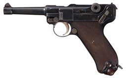 DWM - 1908 Bulgarian Contract Luger Rig