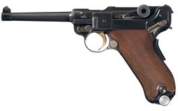 Exceptional Mauser Banner Model 1906/34 Swiss Contract Luger