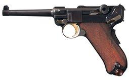 Scarce DWM Model 1900 Commercial Luger Semi-Automatic Pistol