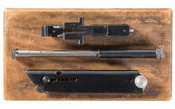 Cased Erma Luger 22 Long Rifle Conversion Kit