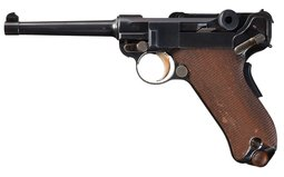 DWM Swiss Contract Model 1900 Luger Semi-Automatic Pistol