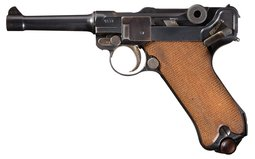 DWM 1918 Dated Military Luger with Holster