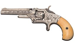 New York Engraved Smith & Wesson Model No. 1 Third Issue