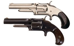 Two Smith & Wesson Model No. 1 1/2 Second Issue Revolvers