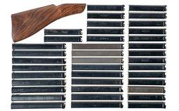 Thompson Sub-Machine Gun Magazines and a Buttstock