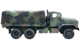 Massive 1984 AM General M923 Heavy Cargo Truck