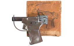Guide Lamp FP-45 Liberator Pistol with Box, Ammo