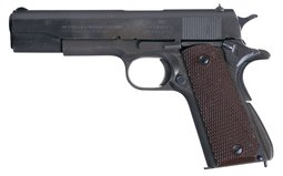 U.S. Colt Model 1911A1 Semi-Automatic Pistol with British Proofs