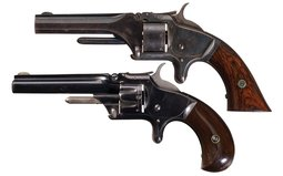 Collector's Lot of Two Smith & Wesson Model No. 1 Revolvers