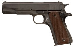 World War II U.S. Colt Model 1911A1 Semi-Automatic Pistol