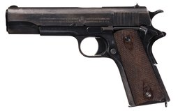 Colt Model 1911 Pistol, 1918 Manufacture, WWI