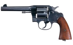 U.S. Army Colt Model 1917 Double Action Revolver