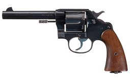U.S. Army Colt Model 1909 Double Action Revolver
