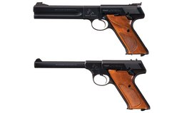 Collector's Lot of Two Colt Semi-Automatic Sporting Pistols
