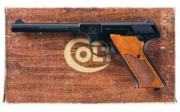 Colt Third Series Huntsman Semi-Automatic Pistol with Box