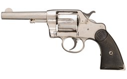 Colt Model 1889 Navy Double Action Revolver with Holster Rig