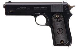 Colt Model 1903 Pocket Hammer Semi-Automatic Pistol with Holster