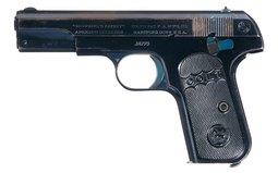 Colt Model 1903 Hammerless Semi-Automatic Pistol