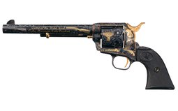 A. White's Autry Museum Gala Colt Single Action Army Revolver