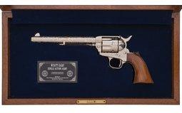 Engraved Uberti Wyatt Earp Commemorative SAA Revolver