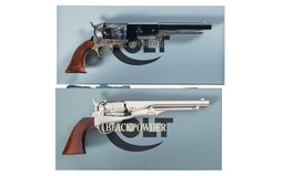 Two Colt Signature Series Percussion Revolvers with Boxes