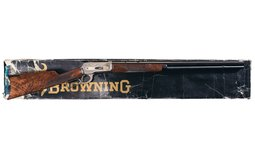 1 of 3,000 Browning Model 1886 Lever Action Rifle