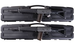 Two Consecutively Numbered Sig Sauer 551A1 Semi-Automatic Rifles