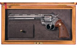 Colt Python with Presentation Case