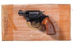 Documented Factory Exhibition Colt Cobra Double Action Revolver