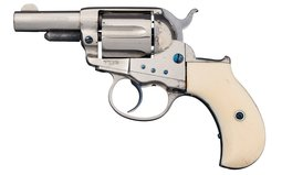 Colt Sheriff's Model 1877 Lightning DA Revolver with Inscription