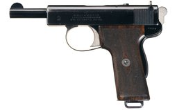 Webley & Scott Model 1909 Semi-Automatic Pistol