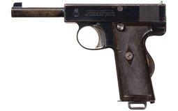 Rare Webley & Scott Model 1910 .38 ACP Semi-Automatic Pistol