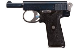 Webley & Scott Model 1905 Semi-Automatic Pistol