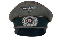 Scarce Nazi Heer General Officer's Crusher Cap