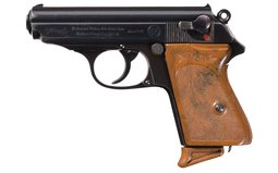 Walther RZM Marked PPK Semi-Automatic Pistol with Holster