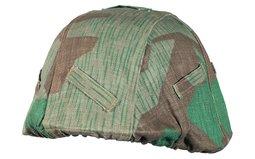 Scarce HBT Splittermuster Camo Helmet Cover w/M42 Helmet