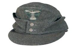 Nazi Waffen-SS Enlisted Model 1943 Field Cap