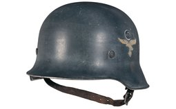 Luftwaffe Officer's Aluminum Parade Helmet