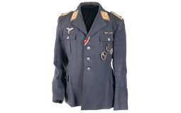 Two Luftwaffe Pilot Officer's Tunics