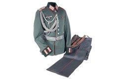 Nazi Parade Uniform Set for an Artillery Armorer with Belt